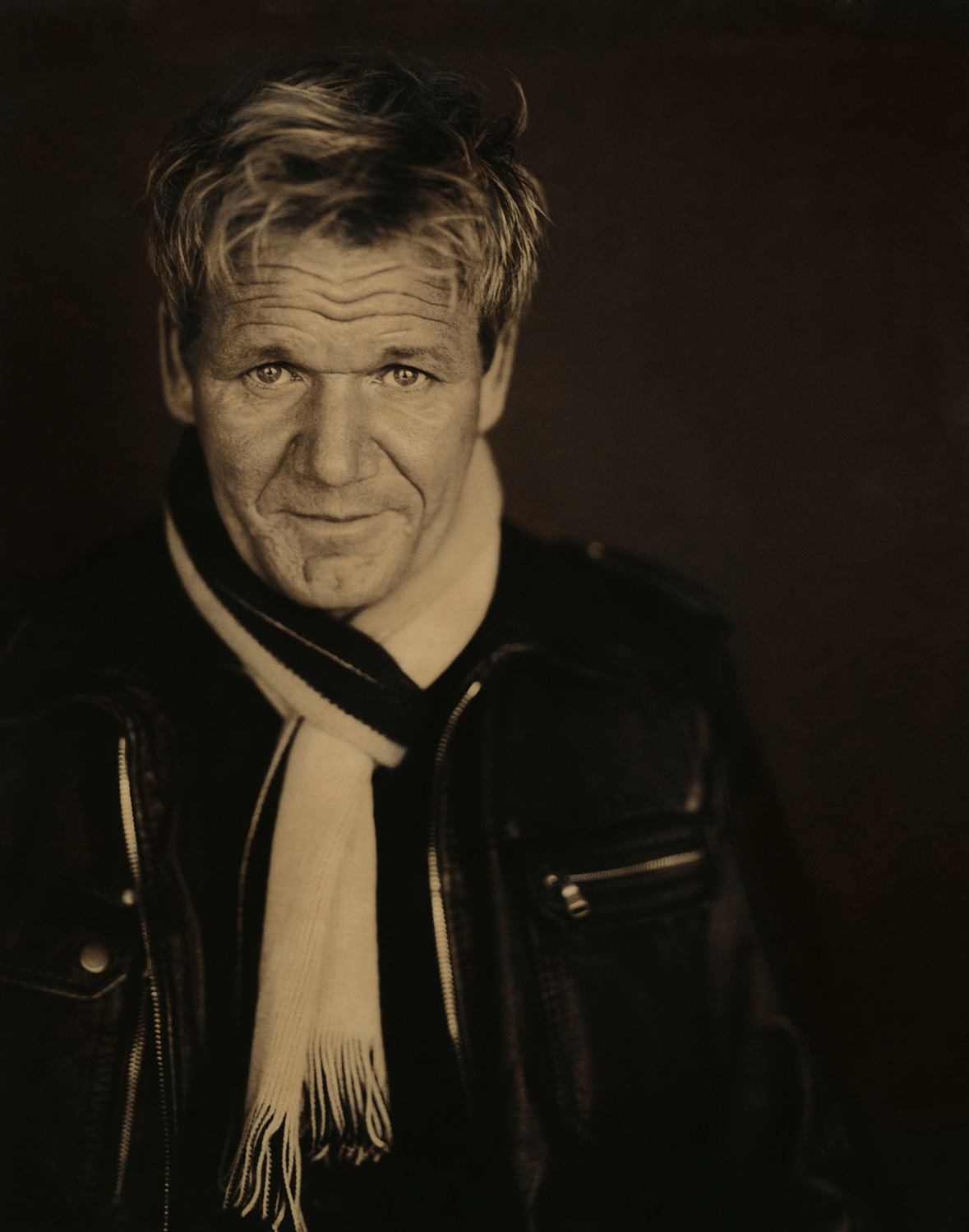 GORDON RAMSAY AT BOND STREET STUDIOS PHOTOGRAPHED BY BARRY MCCALL FOR PHO20GRAPHY