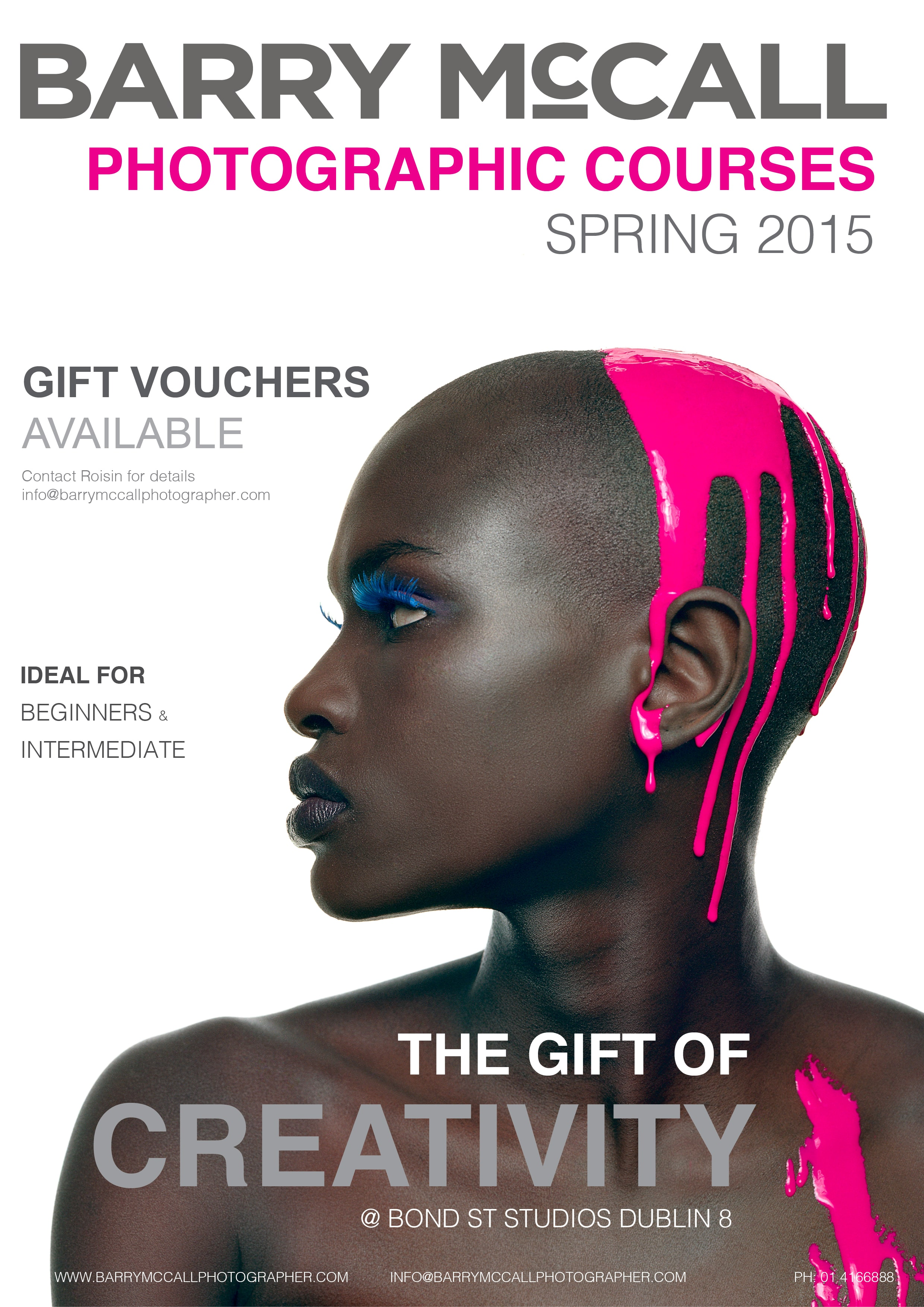 Spring Photography Courses 2015 Gift Vouchers