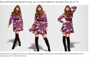 Barry McCall_Director_Littlewoods Ireland AW15 Campaign