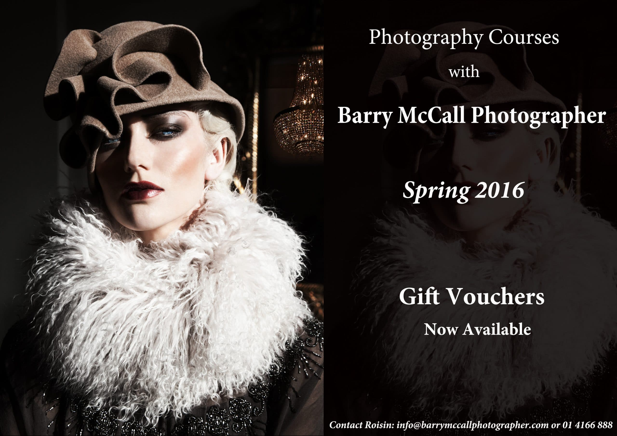 Photography Courses with Barry McCall