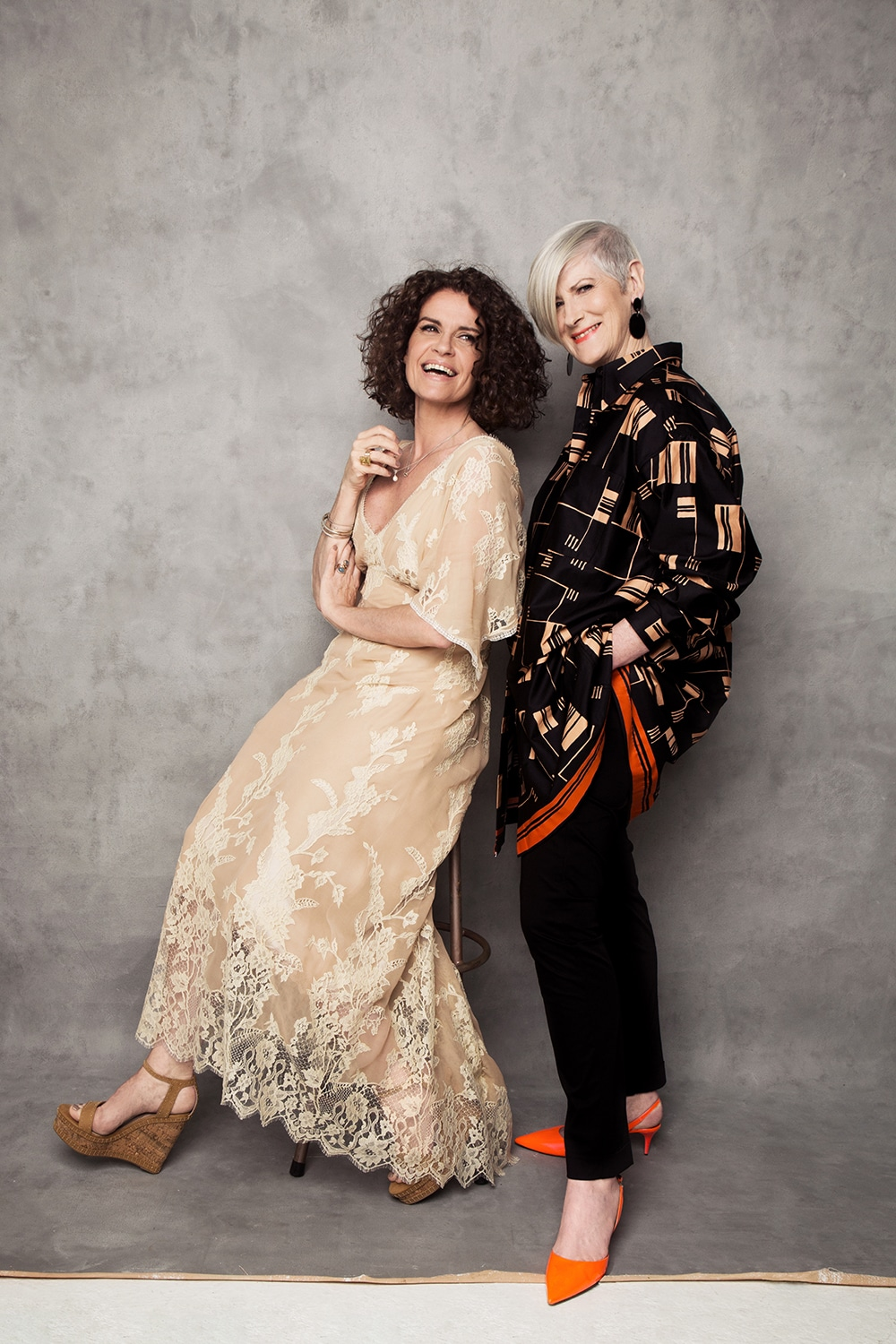 Helen Cody and Alice Maher by Barry McCall Photographer