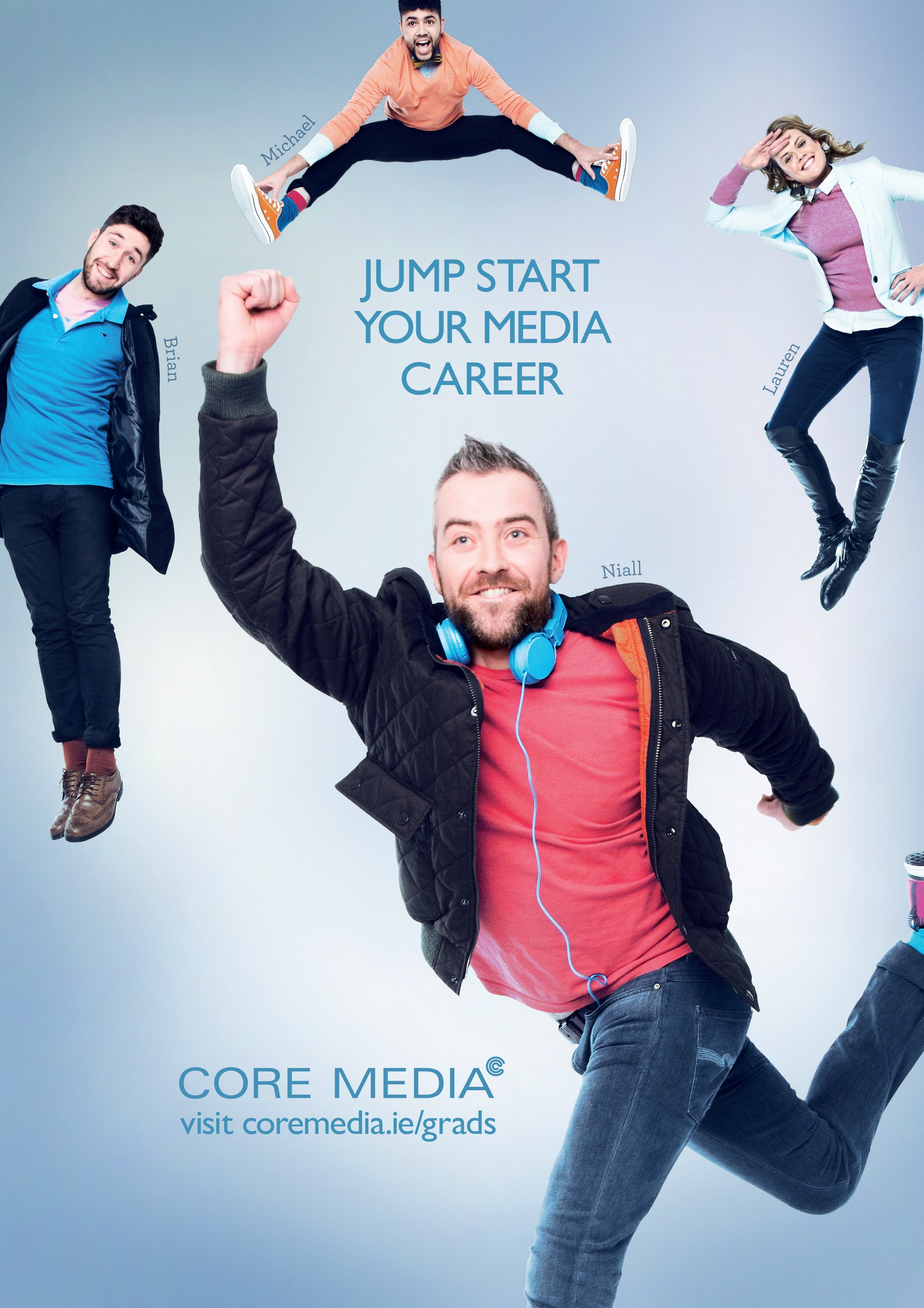 Core Media Graduate Recruitment Campaign Barry McCall