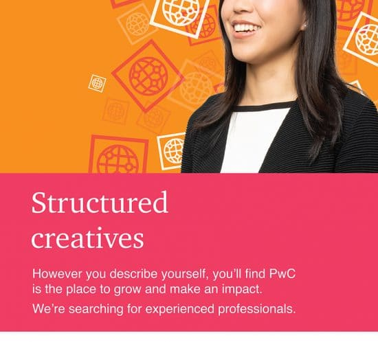 PWC Recruitment Campaign Barry McCall Photographer